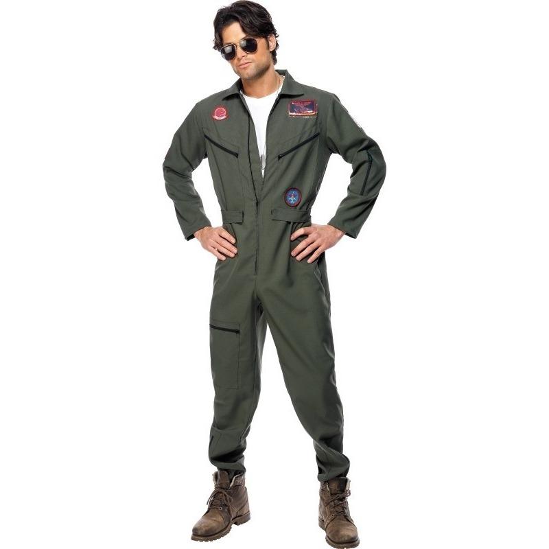 Straaljager piloten jumpsuit voor heren