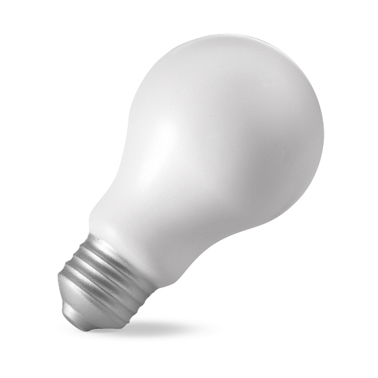 Stressbal lampbolletje 10 cm
