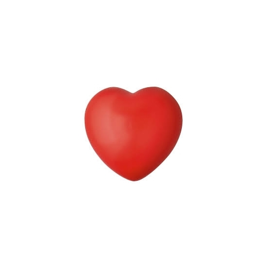 Stressbal rood hartje