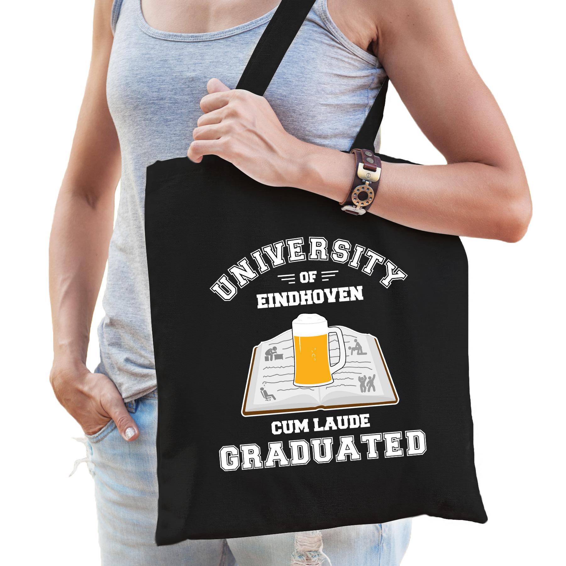 Studenten verkleed tas zwart university of Eindhoven voor dames