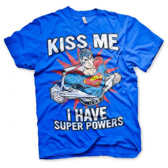 Super Powers heren t-shirt