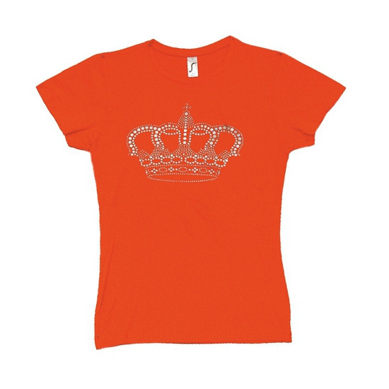 T-shirt Holland voor dames met kroontje