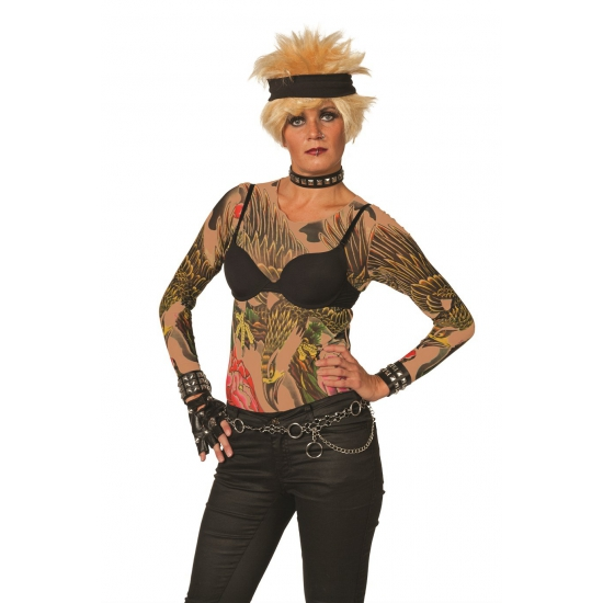 Tattoo t-shirt voor dames