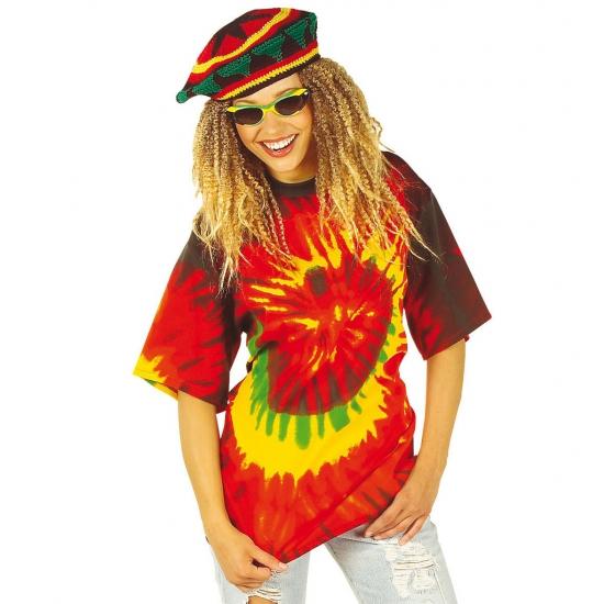 Tie-dye hippie shirt