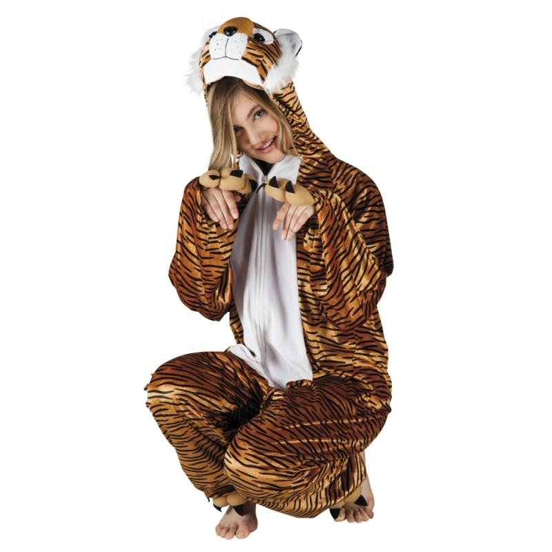 Tijger dieren kostuum voor dames