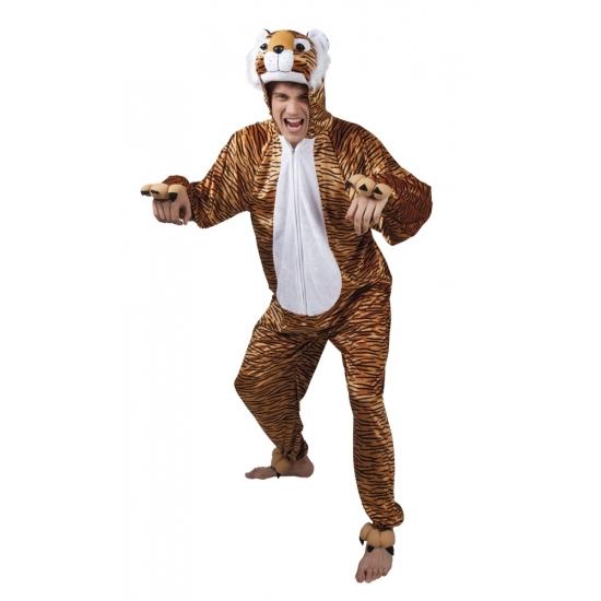 Tijger dieren kostuum voor heren
