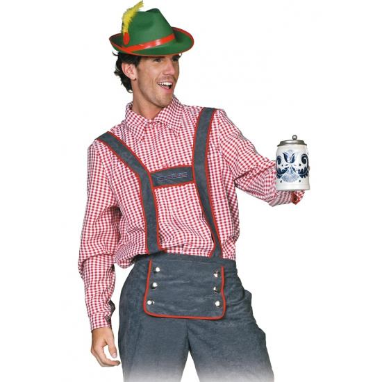 Tiroler blouse voor heren