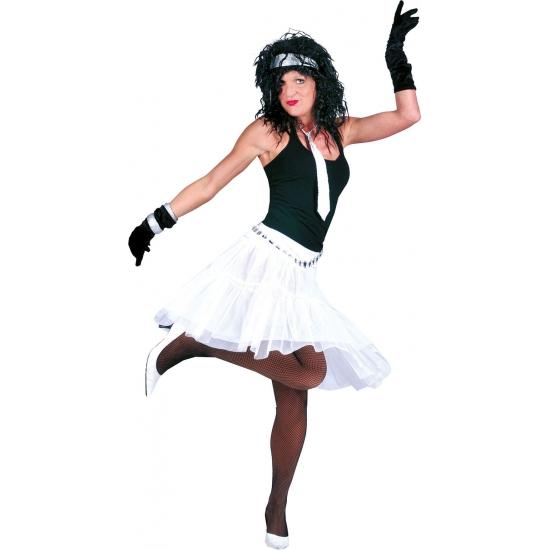 Toppers - Witte petticoat voor dames