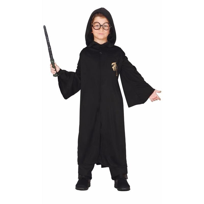 Tovenaar Harry cape met capuchon voor kinderen