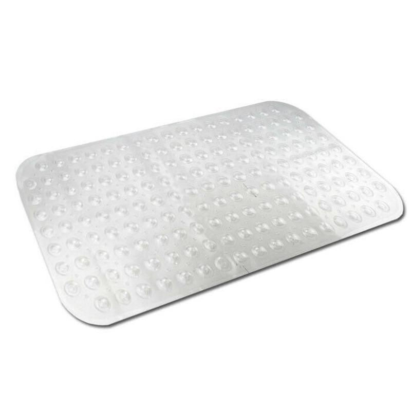 Transparante antislip badmat-douchemat 79 x 37 cm