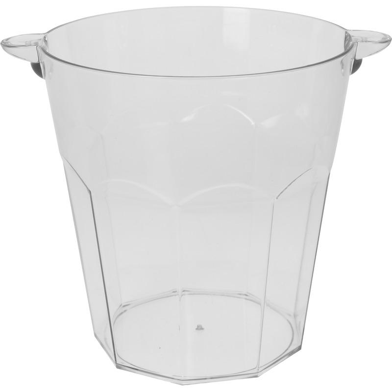 Transparante ijsemmer 3 liter
