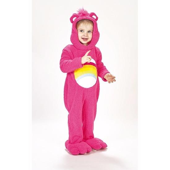 Troetelbeertjes kostuum roze voor peuters