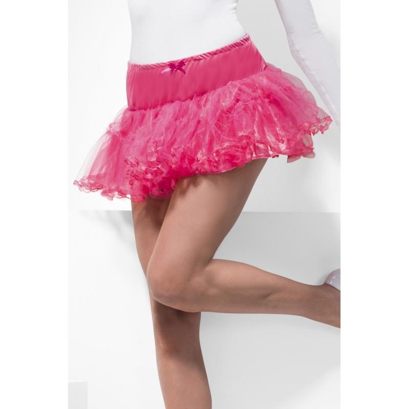 Tule petticoat/tutu roze