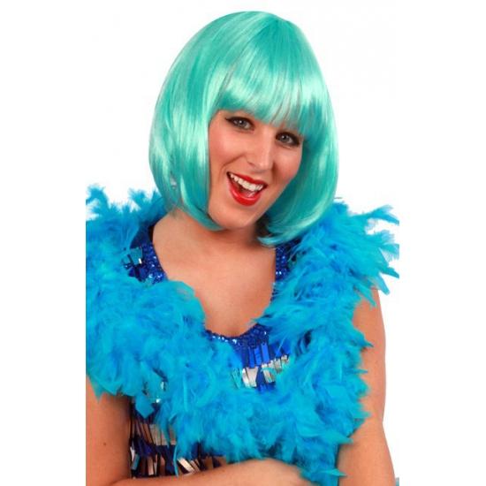 Turquoise boa 180 cm