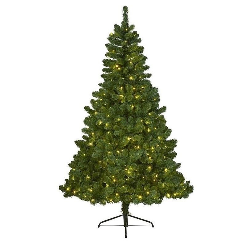 Tweedekans kunst kerstboom Imperial Pine met verlichting 120 cm