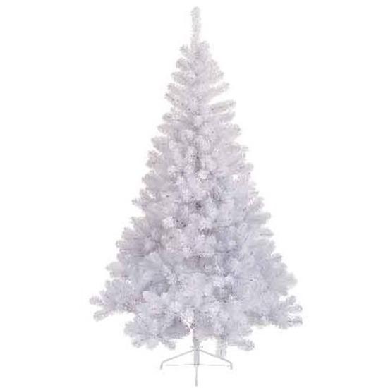 Tweedekans kunst kerstboom wit Imperial pine 220 tips 120 cm