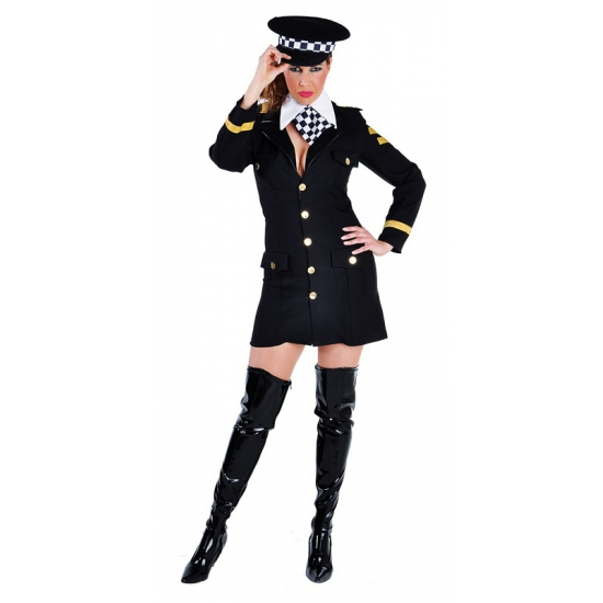 Uitdagend politie agente jurkje