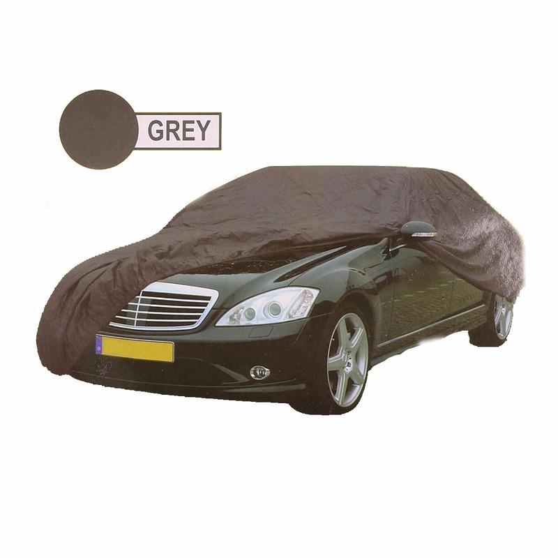 Universele auto beschermhoes XL grijs 534 x 178 x 120 cm