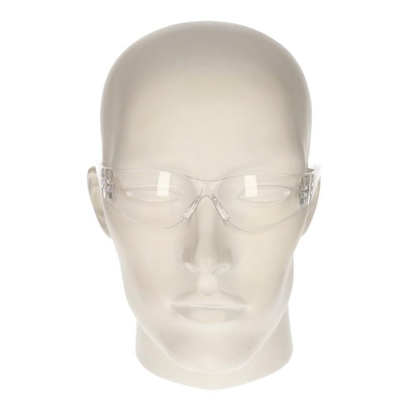 Veiligheidsbril - vuurwerkbril transparant voor kinderen