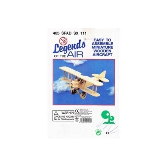 Vliegtuig bouwpakket 405 Spad Beige