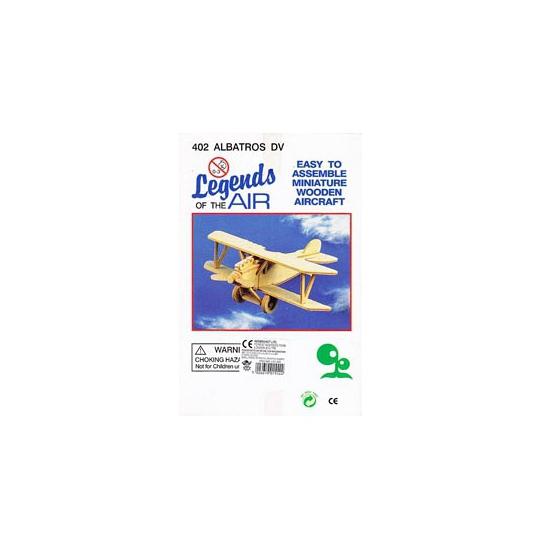 Vliegtuig bouwpakket Albatros 402 Beige