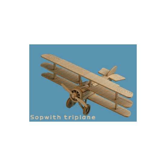 Vliegtuig bouwpakket Sopwith 853 Beige