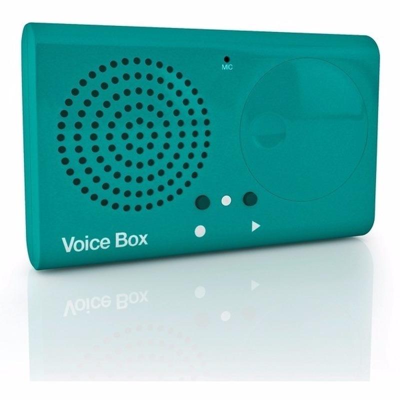 Voice recorder opneem box