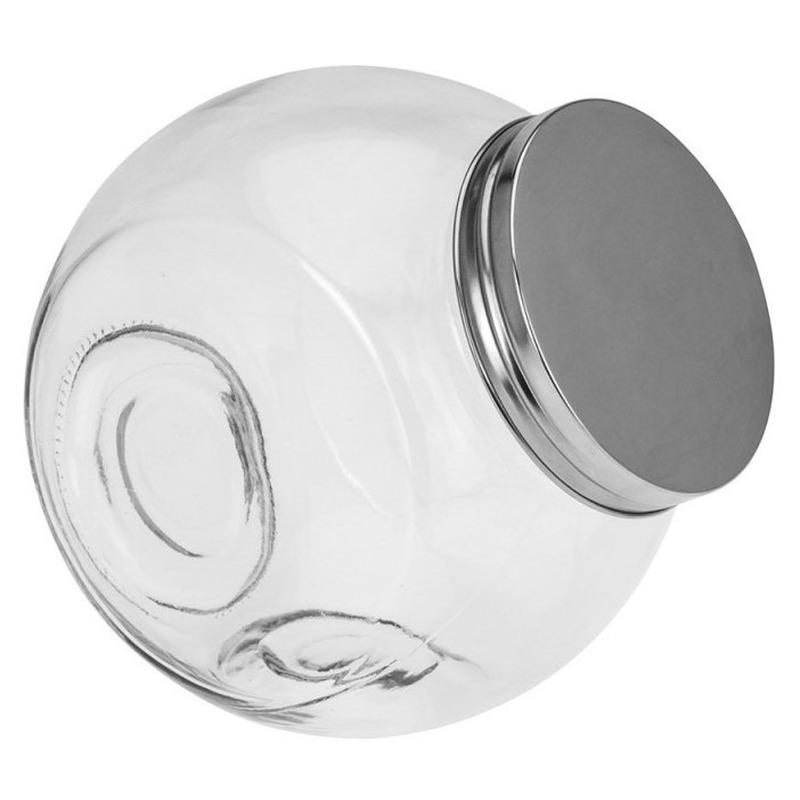 Voordeelset van 5x stuks glazen voorraadpotten/snoeppotten 16 cm