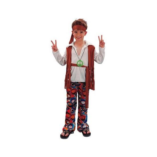 Voordelig hippie kostuum voor jongens