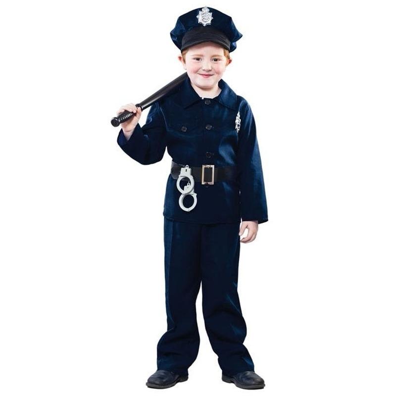 Voordelig politie kostuum voor kinderen