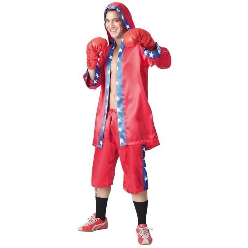 Voordelige bokser outfit voor heren