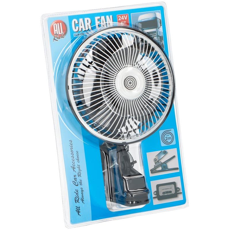 Vrachtwagen ventilator 24V met klem