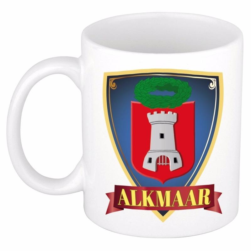 Wapen van Alkmaar beker - mok 300 ml