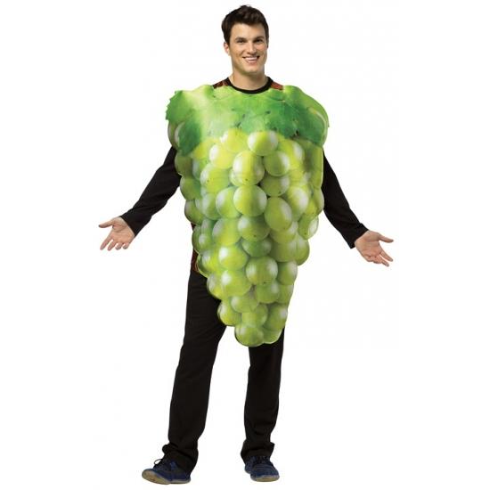 Wit druiven kostuum voor dames en heren