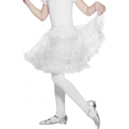 Witte petticoat/tutu voor kinderen