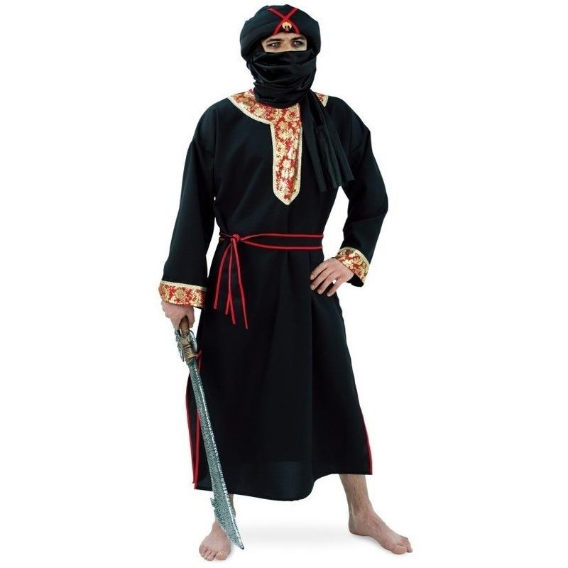 Woestijn strijder kostuum