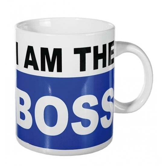 XL Koffiebeker I am the boss 700 ml