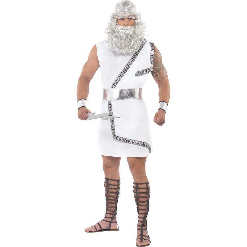 Zeus kostuum voor heren