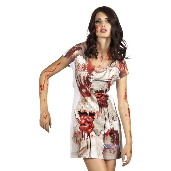 Zombie bruid jurkje voor dames