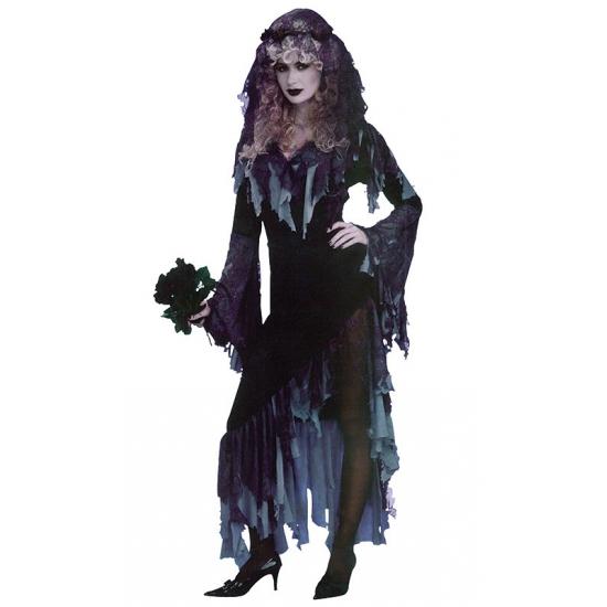Zombie bruid kostuum voor dames