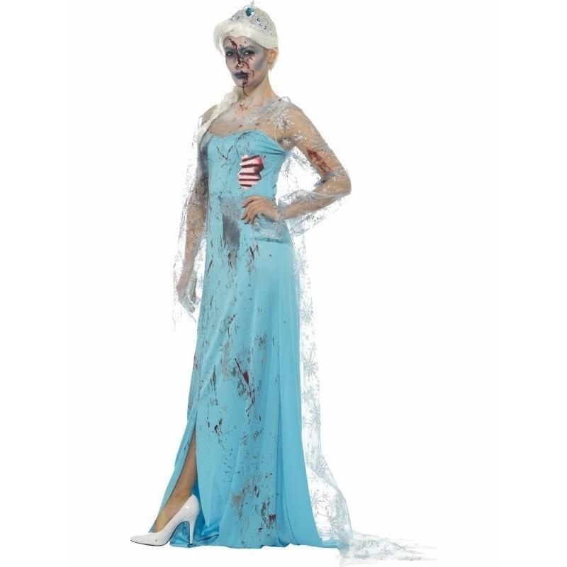 Zombie Froze to Death kostuum voor dames