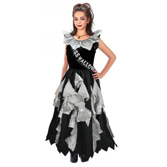 Zombie prom queen halloween kostuum voor meisjes van 3-12 jaar