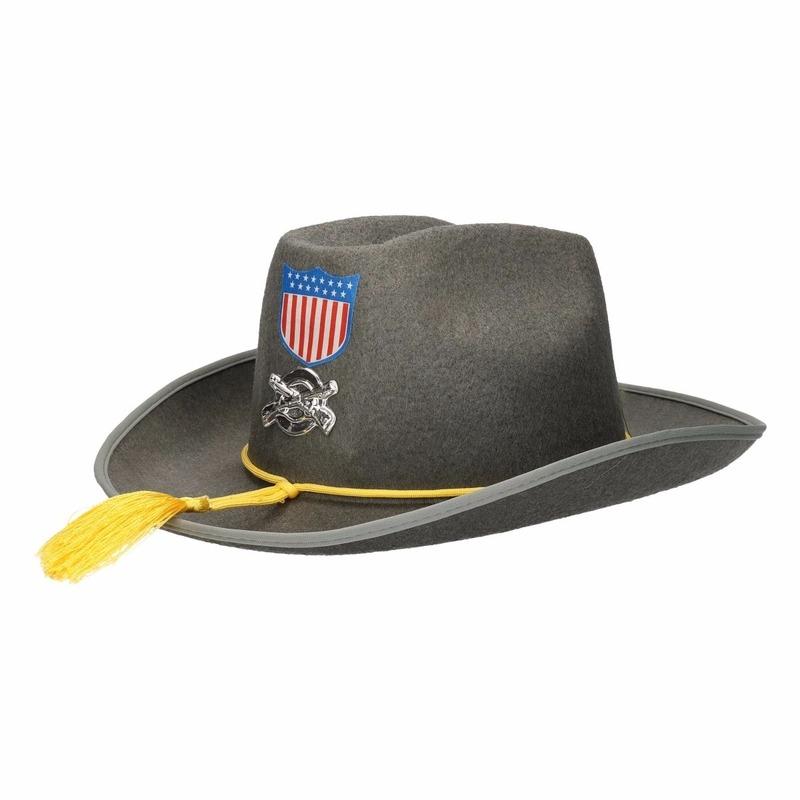 Zuidelijke Staten hoed grijs Amerika USA Bellatio