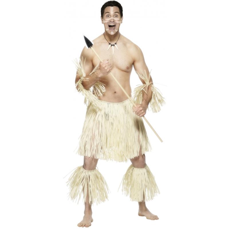 Zulu krijgers kostuum