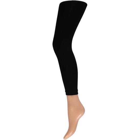 Zwarte legging 200 denier voor dames
