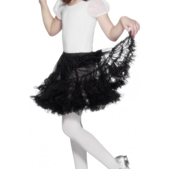 Zwarte petticoat/tutu voor kinderen
