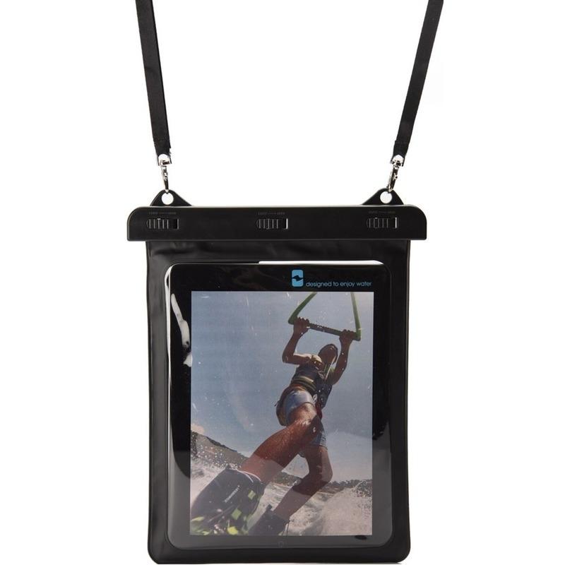 Zwarte waterproof hoes voor 10,5 inch tablets